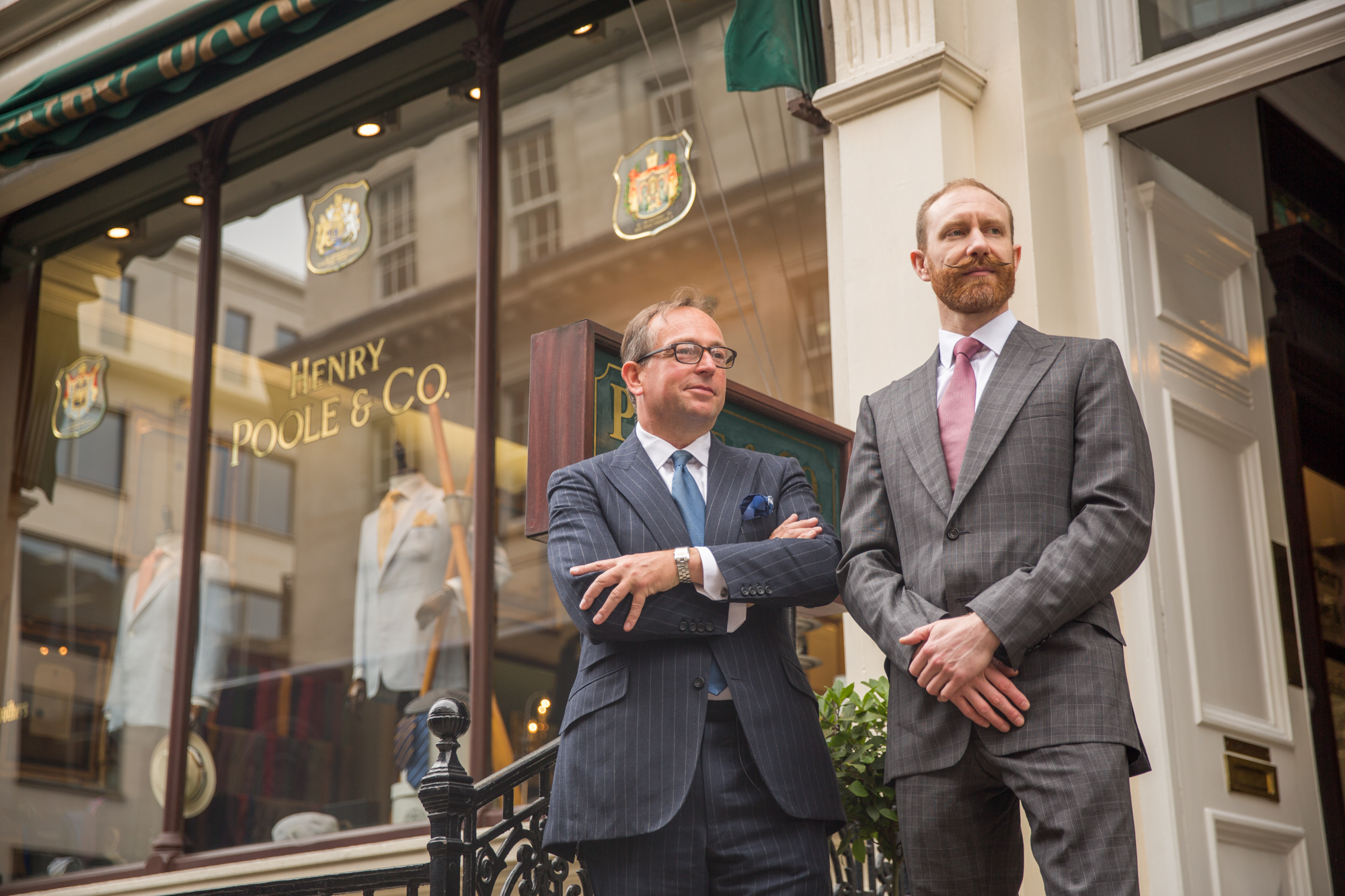 28.6.2018 - Legends of Savile Row - with Henry Poole & Co.